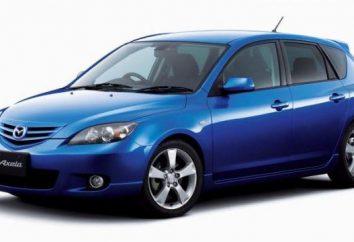« Mazda » Axel: Spécifications et commentaires