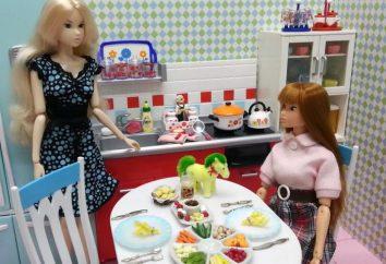 Cómo hacer que los platos para las muñecas con sus propias manos? Las mejores ideas para la creatividad