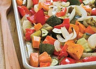 Comment les légumes délicieux cuit au four?