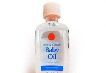 Olej wazelinowy dla niemowląt, zalecenia dotyczące stosowania