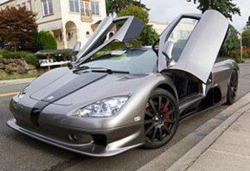 La voiture la plus rapide – salutations de l'avenir