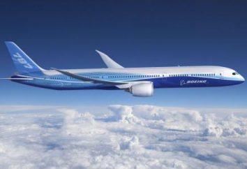 """""""Boeing-787"""" (Boeing 787) – Specifiche tecniche"""