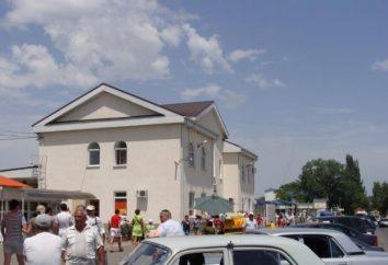 Terminal de autocarros Anapa local e horário