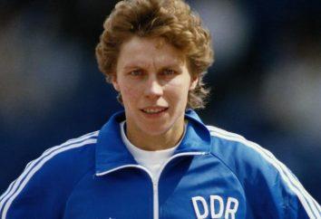 Atleta Marita Koch: biografia, la famiglia, i risultati raggiunti e fatti interessanti