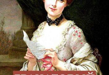 A. I. Kouprine « Grenat Bracelet »: un résumé des chapitres, l'analyse narrative