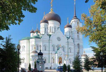 Voronezh église orthodoxe cathédrale de l'Intercession et l'église de Nikolaya Chudotvortsa