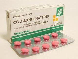"""Tabletas """"Fuzidin de sodio"""": instrucciones de uso, análogos y comentarios"""