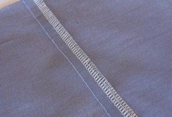 Máquina de costuras: a tecnologia e tipos. máquina de costura: conectores, borda