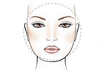 Comment appliquer le maquillage pour un visage plein?