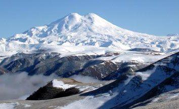 Rosja Góry. Lista najwyższych szczytów