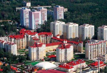 région de Kiev Svyatoshinsky: situation géographique, les divisions administratives, le climat, l'histoire