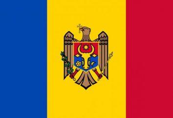 la bandiera moldava, emblema, l'inno