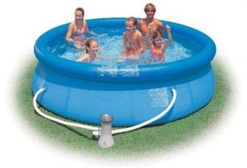 Di acqua calda sanitaria per le piscine Intex: descrizione e una breve descrizione