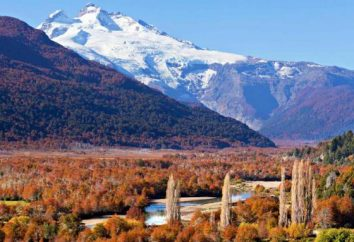 paesaggi naturali unici del paese. Dove è l'Argentina, in quale continente?