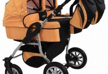 poussettes pour bébés polonais: Les transformateurs et les modèles classiques