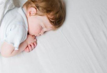 Por que uma criança está suando durante o sono?