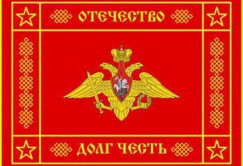 O banner – um símbolo de coragem, honra e dignidade
