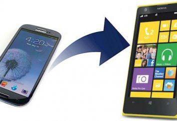 Jak mogę przenieść kontakty z Androida na Windows Phone: porady i wskazówki