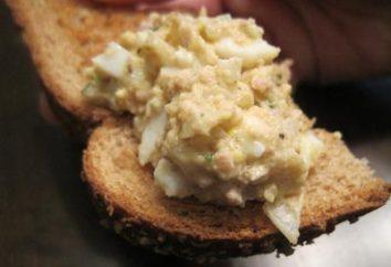 Ensalada con aceite de hígado de bacalao con un huevo y ahora en su mesa