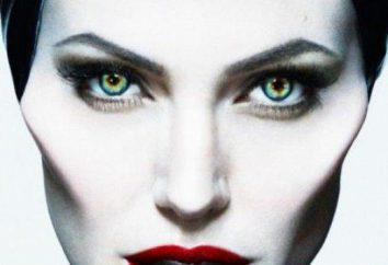 Malefiz: Make-up auf Halloween mit ihren Händen