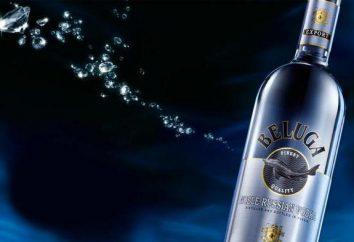 """Vodka """"Beluga"""": descrição e características. comentários"""