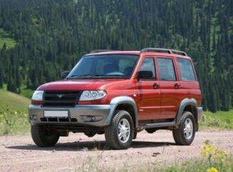 """UAZ """"Patriota"""", charakterystyczna dla rosyjskiego SUV"""