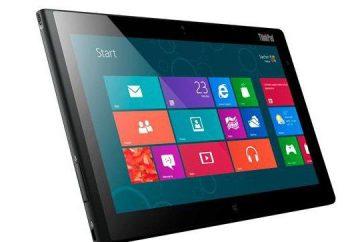 Visão de tablet Lenovo ThinkPad Tablet 2 e comentários