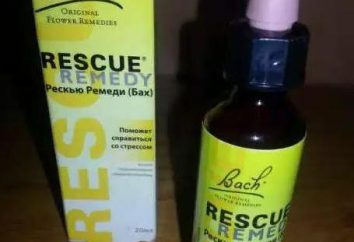 """Instructions, commentaires: """"Rescue Remedy"""""""