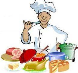 Kluczowe urzędnicy instrukcjami kuchni
