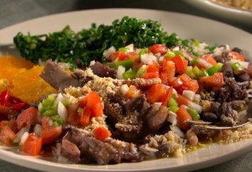 Narodową potrawą z Brazylii. Tradycyjne dania główne i Brazylia