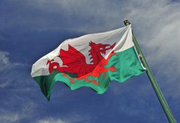 A bandeira do País de Gales, sua origem e outros símbolos do país