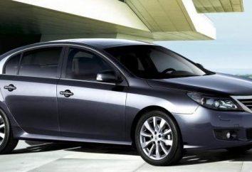 Sedan Renault Latitude: photos, spécifications et commentaires des propriétaires