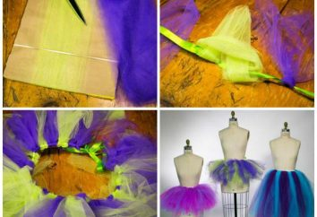 Röcke, Tutus für Mädchen mit ihren Händen: Muster, Beschreibungen und Empfehlungen