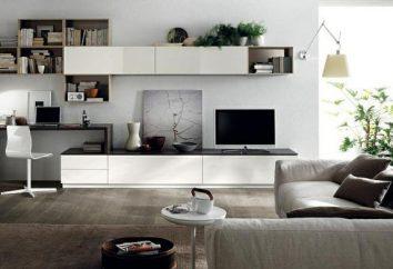 Minimalism im Inneren kleinen Wohnungen. Interior Zimmer-Wohnung