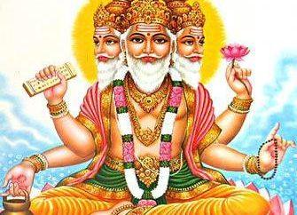 Dio Brahma: descrizione e l'origine