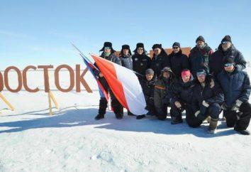 """stazione polare """"Vostok"""" Antartide: descrizione, la storia, il clima e l'accesso alle"""