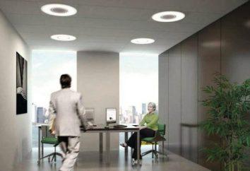 Comment installer la facture de lumière au plafond LED pour la maison et le bureau. Types et avantages