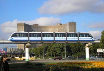 Jednotorowe w Moskwie, zdjęcia, układ i opis