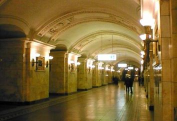 "station ""Oktyabrskaya"" – Metro spécial et unique"