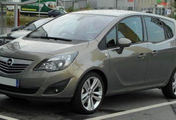 Una de las más modernas minivans – esto Opel Meriva. Las revocaciones sobre lo demuestre