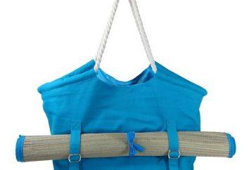 Muster Strandtaschen. Nähen Sie eine Strandtasche. Strandtasche hook