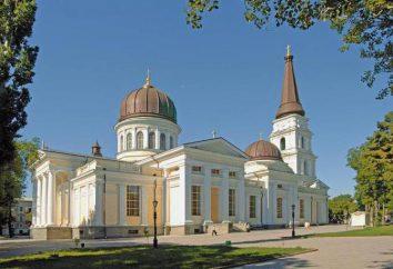 Odessa, Katedra Przemienienia: adres, opis