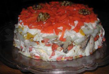 Préparer une salade de fête Gâteau