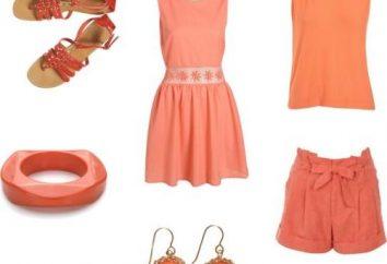 Od co się ubrać koralową sukienkę?