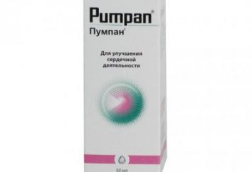"""A droga """"Pumpan"""": comentários de médicos, instruções de uso, composição e descrição"""