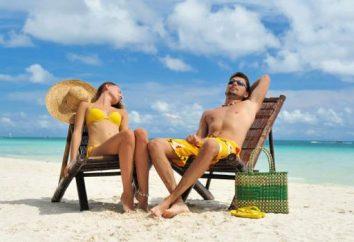 Feriados em dezembro, do inverno para a resorts de verão
