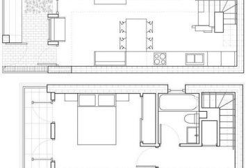 Projetos em casa a partir de um 10×10 bar: destaca a tecnologia de construção e materiais benefícios