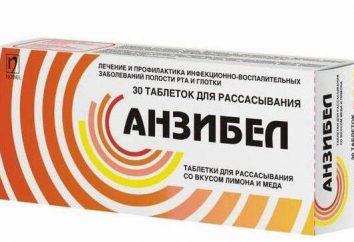 Le médicament « Anzibel »: mode d'emploi, analogues et commentaires