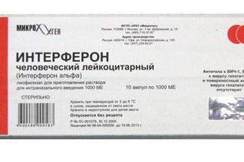 Commentaires pour « interféron ». médicament antiviral « interféron leucocytaire »: commentaires des médecins et des patients
