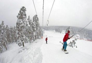 Puhtolova Montanha – uma estância de esqui. Fotos e comentários
